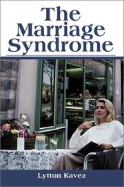 Cover of: The Marriage Syndrome