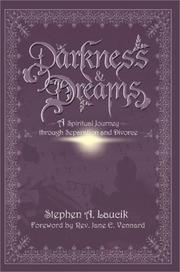 Cover of: Darkness & Dreams