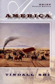 Cover of: America | George Brown Tindall, David E. Shi