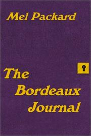 Cover of: The Bordeaux Journal