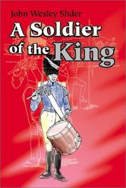 Cover of: A Soldier of the King