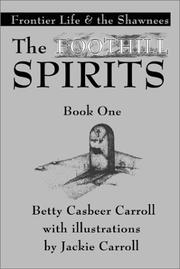 Cover of: The Foothill Spirits
