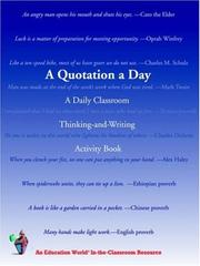 Cover of: A Quotation a Day