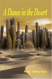 Cover of: A Dance in the Desert | Mindy B Gibbins-Klein