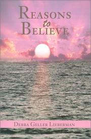 Cover of: Reasons to Believe