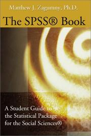Cover of: The Spss Book