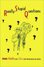 Cover of: Really Stupid Questions