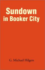 Cover of: Sundown in Booker City