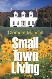 Cover of: Small Town Living