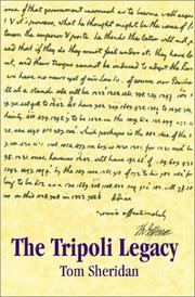 Cover of: The Tripoli Legacy | Tom Sheridan