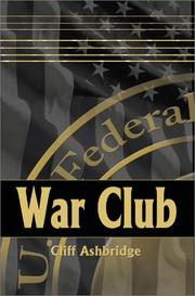 Cover of: War Club