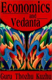 Cover of: Economics and Vedanta