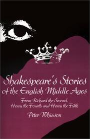 Cover of: Shakespeare's Stories of the English Middle Ages