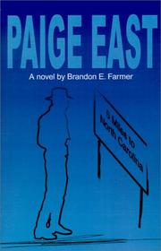 Cover of: Paige East