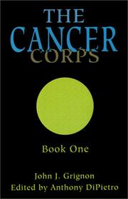 Cover of: The Cancer Corps, Book One