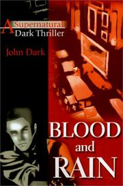 Cover of: Blood and Rain
