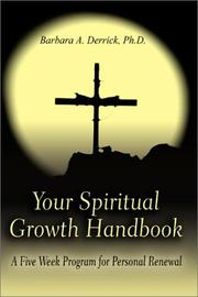 Cover of: Your Spiritual Growth Handbook