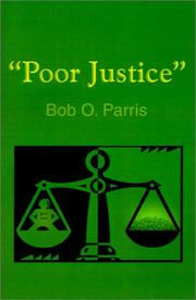 Cover of: Poor Justice