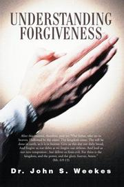 Cover of: Understanding Forgiveness