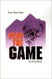 Cover of: Play the Game
