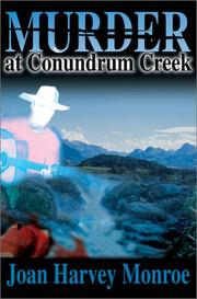 Cover of: Murder at Conundrum Creek