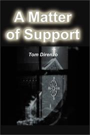 Cover of: A Matter of Support