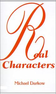 Cover of: Real Characters