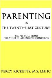 Cover of: Parenting in the Twenty-First Century