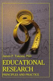 Cover of: Educational Research: Principles and Practice