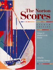 Cover of: The Norton Scores, Vol 2 | Kristine Forney