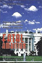 Cover of: Fatal Ambition | Bill York