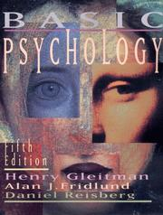 Cover of: Basic psychology | Henry Gleitman