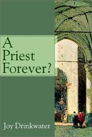 Cover of: A Priest Forever? | Bettine J. Krause