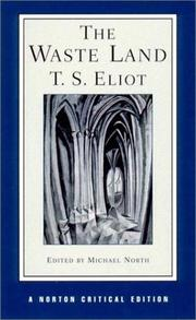 Cover of: The waste land | T. S. Eliot