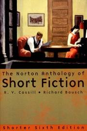Cover of: The Norton anthology of short fiction