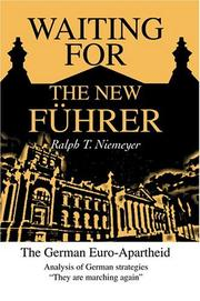 Cover of: Waiting for the New Führer | Ralph T. Niemeyer