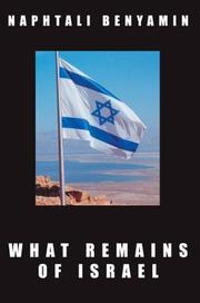 Cover of: What Remains of Israel | Naphtali Benyamin