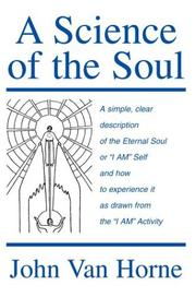 Cover of: A Science Of The Soul