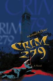 Cover of: Crim 279 | Michael A. Dove