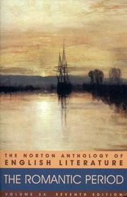 Cover of: The Norton Anthology of English Literature, Vol. 2 A | M.H. Abrams