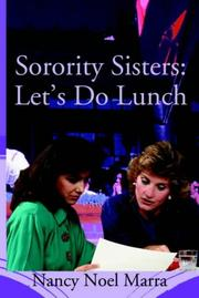 Cover of: Sorority Sisters