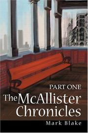 Cover of: The McAllister Chronicles