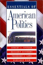 Cover of: Essentials of American Politics | Benjamin Ginsberg