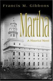 Cover of: Martha