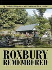 Cover of: Roxbury Remembered (N)