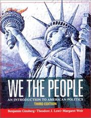 Cover of: We the People, Third Edition | Benjamin Ginsberg