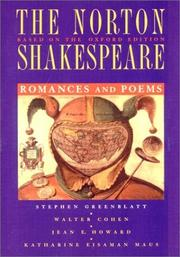 Cover of: The Norton Shakespeare, Based on the Oxford Edition by Katharine Eisaman Maus, Jean E. Howard, Walter Cohen, William Shakespeare