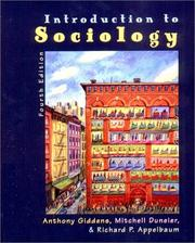 Cover of: Introduction to Sociology | Anthony Giddens