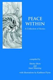 Cover of: Peace Within | Shirley Horn