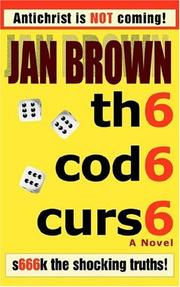 Cover of: th6 cod6 curs6 | Jan Brown